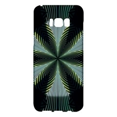 Lines Abstract Background Samsung Galaxy S8 Plus Hardshell Case