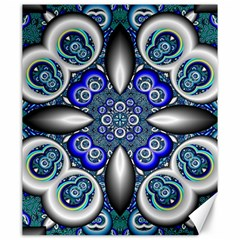 Fractal Cathedral Pattern Mosaic Canvas 20  X 24   by BangZart