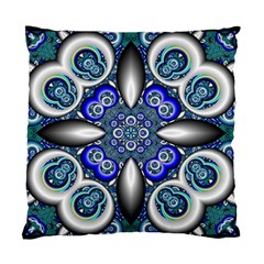 Fractal Cathedral Pattern Mosaic Standard Cushion Case (one Side) by BangZart