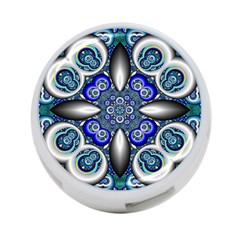 Fractal Cathedral Pattern Mosaic 4 Port Usb Hub (two Sides)  by BangZart