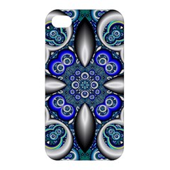 Fractal Cathedral Pattern Mosaic Apple Iphone 4/4s Hardshell Case by BangZart