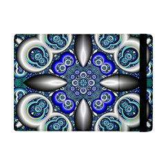 Fractal Cathedral Pattern Mosaic Apple Ipad Mini Flip Case by BangZart