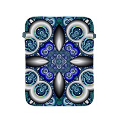 Fractal Cathedral Pattern Mosaic Apple Ipad 2/3/4 Protective Soft Cases