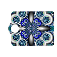 Fractal Cathedral Pattern Mosaic Kindle Fire Hd (2013) Flip 360 Case by BangZart