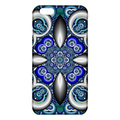 Fractal Cathedral Pattern Mosaic Iphone 6 Plus/6s Plus Tpu Case by BangZart