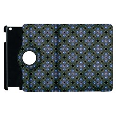 Space Wallpaper Pattern Spaceship Apple Ipad 2 Flip 360 Case by BangZart