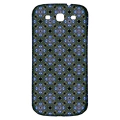Space Wallpaper Pattern Spaceship Samsung Galaxy S3 S Iii Classic Hardshell Back Case by BangZart