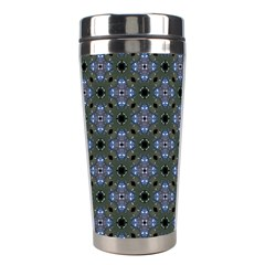Space Wallpaper Pattern Spaceship Stainless Steel Travel Tumblers by BangZart