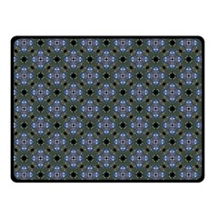 Space Wallpaper Pattern Spaceship Double Sided Fleece Blanket (small)  by BangZart