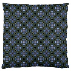 Space Wallpaper Pattern Spaceship Large Flano Cushion Case (one Side)