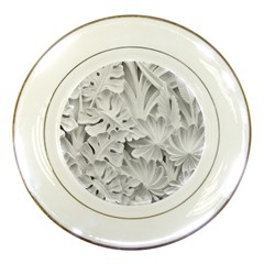 Pattern Motif Decor Porcelain Plates by BangZart