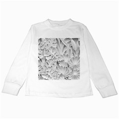 Pattern Motif Decor Kids Long Sleeve T Shirts