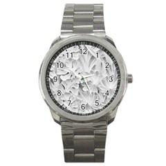 Pattern Motif Decor Sport Metal Watch by BangZart