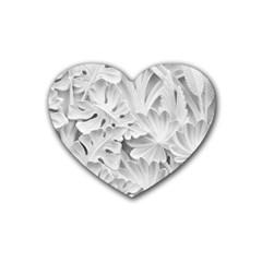Pattern Motif Decor Heart Coaster (4 Pack)