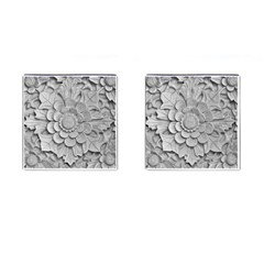 Pattern Motif Decor Cufflinks (square)