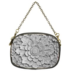 Pattern Motif Decor Chain Purses (two Sides)