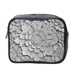 Pattern Motif Decor Mini Toiletries Bag 2 Side
