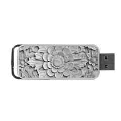 Pattern Motif Decor Portable Usb Flash (one Side) by BangZart