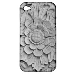 Pattern Motif Decor Apple Iphone 4/4s Hardshell Case (pc+silicone) by BangZart
