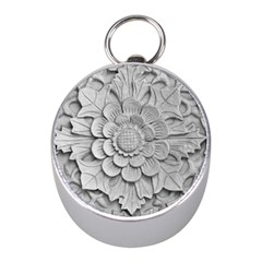 Pattern Motif Decor Mini Silver Compasses