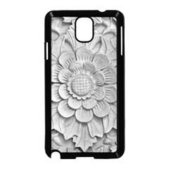 Pattern Motif Decor Samsung Galaxy Note 3 Neo Hardshell Case (black)