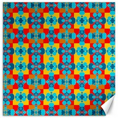 Pop Art Abstract Design Pattern Canvas 12  X 12   by BangZart