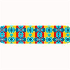 Pop Art Abstract Design Pattern Large Bar Mats by BangZart