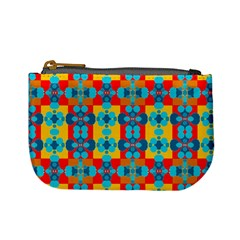 Pop Art Abstract Design Pattern Mini Coin Purses by BangZart