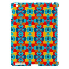 Pop Art Abstract Design Pattern Apple Ipad 3/4 Hardshell Case (compatible With Smart Cover)
