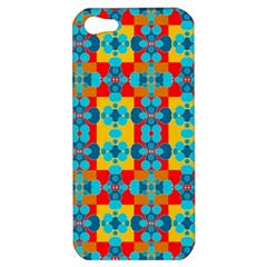 Pop Art Abstract Design Pattern Apple Iphone 5 Hardshell Case by BangZart