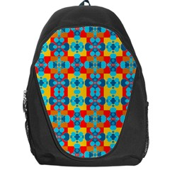 Pop Art Abstract Design Pattern Backpack Bag by BangZart