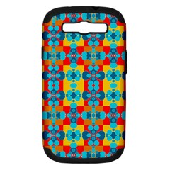 Pop Art Abstract Design Pattern Samsung Galaxy S Iii Hardshell Case (pc+silicone) by BangZart
