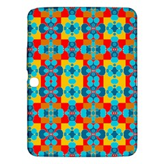 Pop Art Abstract Design Pattern Samsung Galaxy Tab 3 (10 1 ) P5200 Hardshell Case  by BangZart