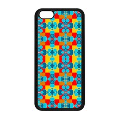 Pop Art Abstract Design Pattern Apple Iphone 5c Seamless Case (black) by BangZart