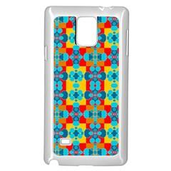 Pop Art Abstract Design Pattern Samsung Galaxy Note 4 Case (white)