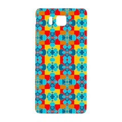 Pop Art Abstract Design Pattern Samsung Galaxy Alpha Hardshell Back Case by BangZart
