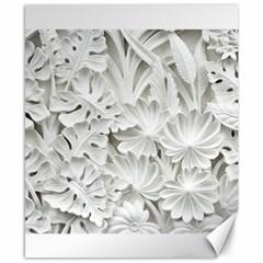 Pattern Motif Decor Canvas 8  X 10  by BangZart