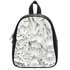 Pattern Motif Decor School Bags (small)  by BangZart
