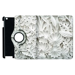 Pattern Motif Decor Apple Ipad 3/4 Flip 360 Case by BangZart