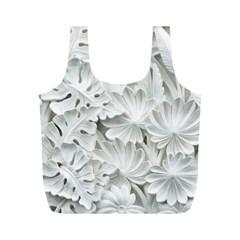 Pattern Motif Decor Full Print Recycle Bags (m)
