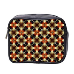 Kaleidoscope Image Background Mini Toiletries Bag 2 Side by BangZart