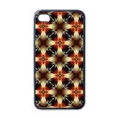 Kaleidoscope Image Background Apple Iphone 4 Case (black) by BangZart
