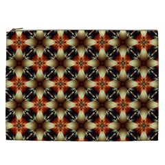 Kaleidoscope Image Background Cosmetic Bag (xxl)