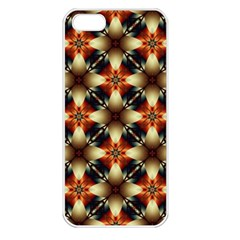 Kaleidoscope Image Background Apple Iphone 5 Seamless Case (white)