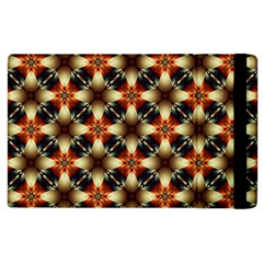 Kaleidoscope Image Background Apple Ipad 3/4 Flip Case by BangZart