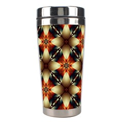 Kaleidoscope Image Background Stainless Steel Travel Tumblers by BangZart