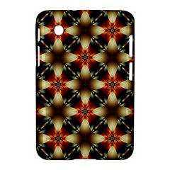 Kaleidoscope Image Background Samsung Galaxy Tab 2 (7 ) P3100 Hardshell Case  by BangZart