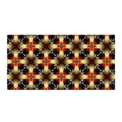 Kaleidoscope Image Background Satin Wrap