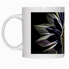Flower Structure Photo Montage White Mugs by BangZart