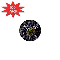 Flower Structure Photo Montage 1  Mini Buttons (100 Pack)  by BangZart